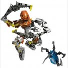 Custom Pohatu Master of Stone Figure Brick Built Toy Fit Lego Bionicel Set Gift Idea
