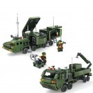 Military Base with Landing Trip Bricks Truck Radar Dish Soldiers Minifigure for Lego Military Base