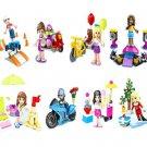 Girl Friends Monster School Custom Minifigures Lego Friends Sets Compatible Bricks Toys