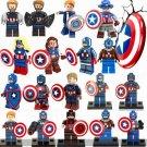 Marvel Captain America Civil War Minifigures Woman Captain Lego Minifigures Compatible Toy
