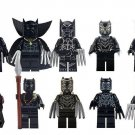 Marvel Super Hero Black Panther Minifigures Erik Brick Building Lego Minifigure Fit TOys
