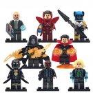 Marvel Universe Doctor Strange Black Widow Iron Man War Machine Minifigure Fit Lego