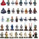 Star Wars Minifigures Lego Clone Trooper Yoda Kylo Ren Compatible Bricks Toy