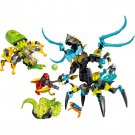 Hero Factory Queen Beast vs Furno Evo and Stormer Figure Fit Lego Bionicle Set