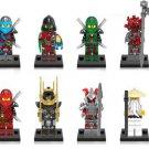 Ninja Snake Wei Samurai Wu Vermin Nya  Minifigures Compatible Lego