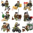 WW2 SWAT GEAR Soldiers vs Terrorists Minifigures Compatible Lego