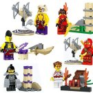 Ninjago Minifgirues Jay NYA Cole Snake Minifigures Compatible Lego Ninja Series 8