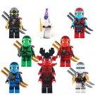 Snake Lloyd ZANE General Kozu Pythor Ninjago Compatible Lego Minifigures
