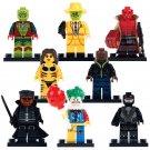 Custom Hellboy Joker The Mask Metallo Stripper Minifigures Compatible Lego