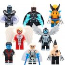 Storm Wolverine Apocalypse Archangel Minifigures Compatible Lego X Men Super Hero