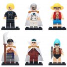 One Piece Luffy Sanji Franky Ugly Face Minifigures Compatible Lego