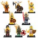 Atlantis Egyptian Pharah Warrior Mummy Viking Warrior Atlantis Minifigures Lego Fit
