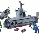 American Navy Nuclear Submarine Building Toy Compatible Lego