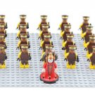 Star Wars Padme Naberrie Amidala Naboo Guards Trooper Fit Lego Minifigures