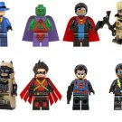 DC The Question Martian Manhunter Wild Dog Black Lighting Eradicator Lego Fit Minifigures
