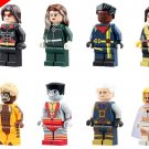 X Men Warpath Rogue Bishop Shadowcat Victor Creed Cable White Queen Minifigures