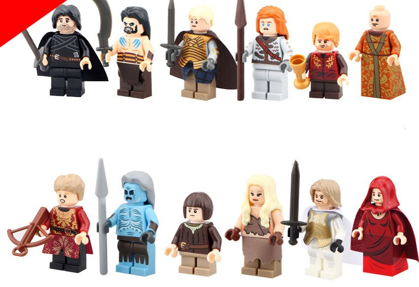 2018 Game of Throne ice and Fire Minifigures Compatible Lego
