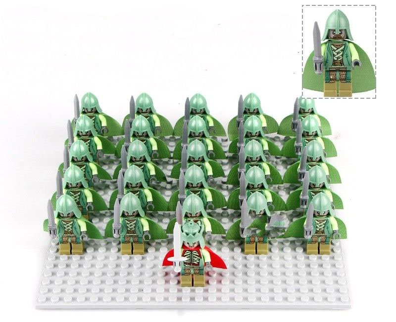 The Hobbit Dead of the King Soldiers Army Compatible Lego Minifigures