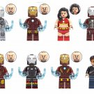 Marvel Avengers Ironman Tony Stark Ironman Dance Girl Minifigures Fit Lego