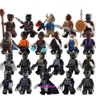 Marvel Universe Black Panther Minifigures Movie Characters Compatible Lego