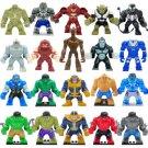 Marvel Avengers Infinity War Super Hero Big Figure Costumes Compatible Lego