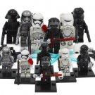 Star Wars Fist Order Stormtrooper Snowtrooper Gunner Kylo Ren Phasma Minifigures Lego Fit