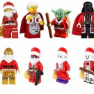Star Wars Christmas Minifigures Yoda Darth Vader Clone Trooper Compatible Lego