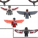 Falcon Minifigures Marvel Super Hero Minifigures Lego Compatible Sam Wilson Building Toy