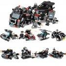 City SWAT American Anti Terrorism Police Battble Gear Compatible Lego City Police