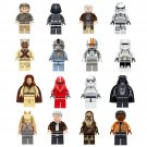 2018 Star Wars Pilot Clone Trooper Minifigures Compatible Lego Minifigures