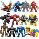 Custom Marvel Universe Super Heroes Big Figure Compatible Lego Avengers Toy