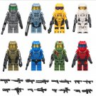 Custom Halo Warriors Minifigures Compatible Lego Building Toy