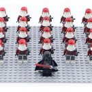 Custom Darth Vader Snowtrooper Army Red Compatible Lego Star Wars Minifigures