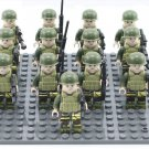 World War American Trooper Army Lego Soldiers Compatible Military Toys