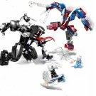 Marvel Venom Spiderman Assemble Building Toy Compatible Lego Super Hero