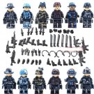 City SWAT FBI Recon Soldiers Compatible Lego Miltiary Sets