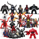 2018 Venom Spiderman Minifigures Compatible Lego Marvel Universe Super Hero