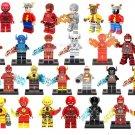 DC Comcis The Flash Reverse Flash Minifigures Compatible Lego Super Hero
