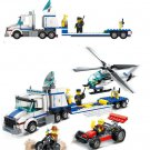 City Police Station Helicopter Police Car Compatible Lego Policemen Minifigure