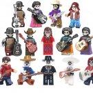 The Day Of The Dead Coco Hector Miguel Ernesto De La Cruz Tia Rosita Minifigures Fit Lego