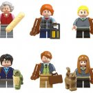 Trolley Witch Ron Weasely Malfoy Remus John Lupin Susan Bones Lego Harry Potter Minifigures Fit