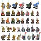 Custom Egyptian Roman Emperor Soldiers Horse Compatible Lego Medieval Knights Castle