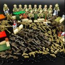 16pcs American Trooper Elite Soldiers Battle Gear Compatible Lego Military Sets