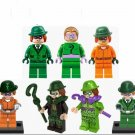 Custom DC Comics Riddler Minfigures Compatible Lego Super Heroes