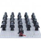 Star Wars Shadow Stormtroper Army Compatible Lego Kyo Ren Minifigure