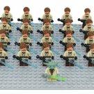 Obi Wan Trooper Amry Minifigures Yoda Comando Compatible Lego