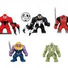 Marvel Venom Thanos Hulkpool Abonimation Hulk Big Figure Lego Compatible Toy