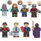 Ghost Captain Wasp Antman Ironman Erik Baron Zemo Zuri Marvel Minifigures Fit Lego