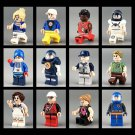 Sports Theme Minifigures Sufing Ski Tennis Diving Scoccer Hocky Climbing Minifigures Fit Lego