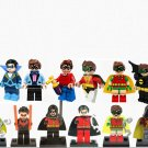 13pcs Robin Minifiure Batman Movie Super Hero Compatible Lego